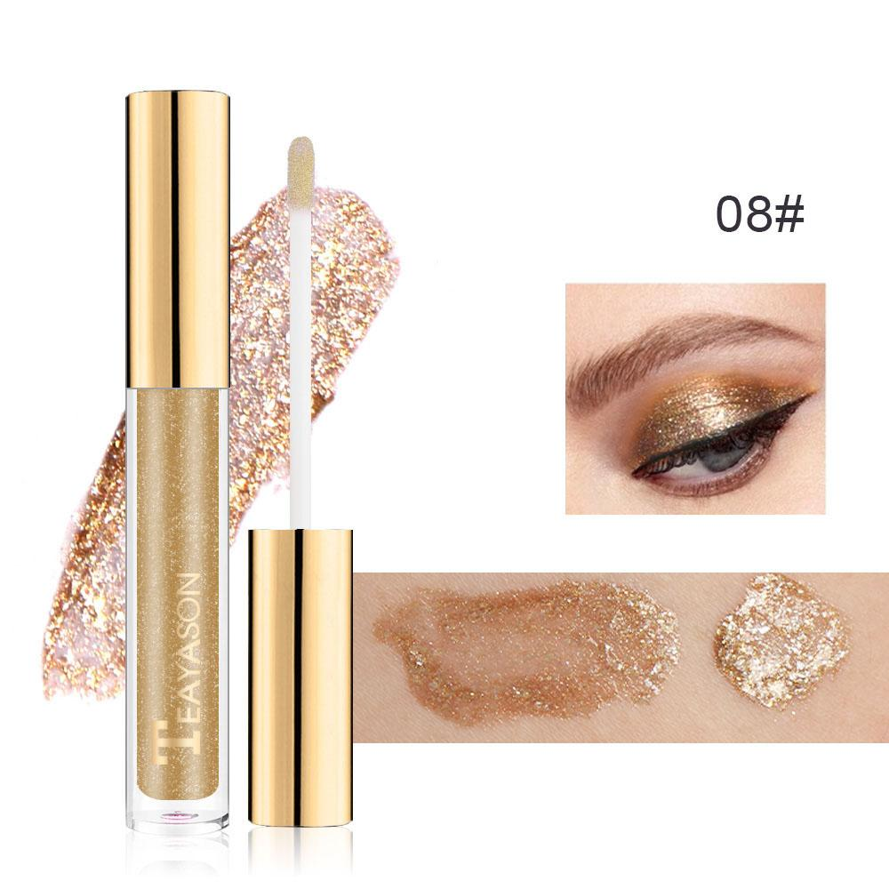 Diamond Gold Silver Glitter Eyeshadow Pen Eye Shadow Fonsany 8