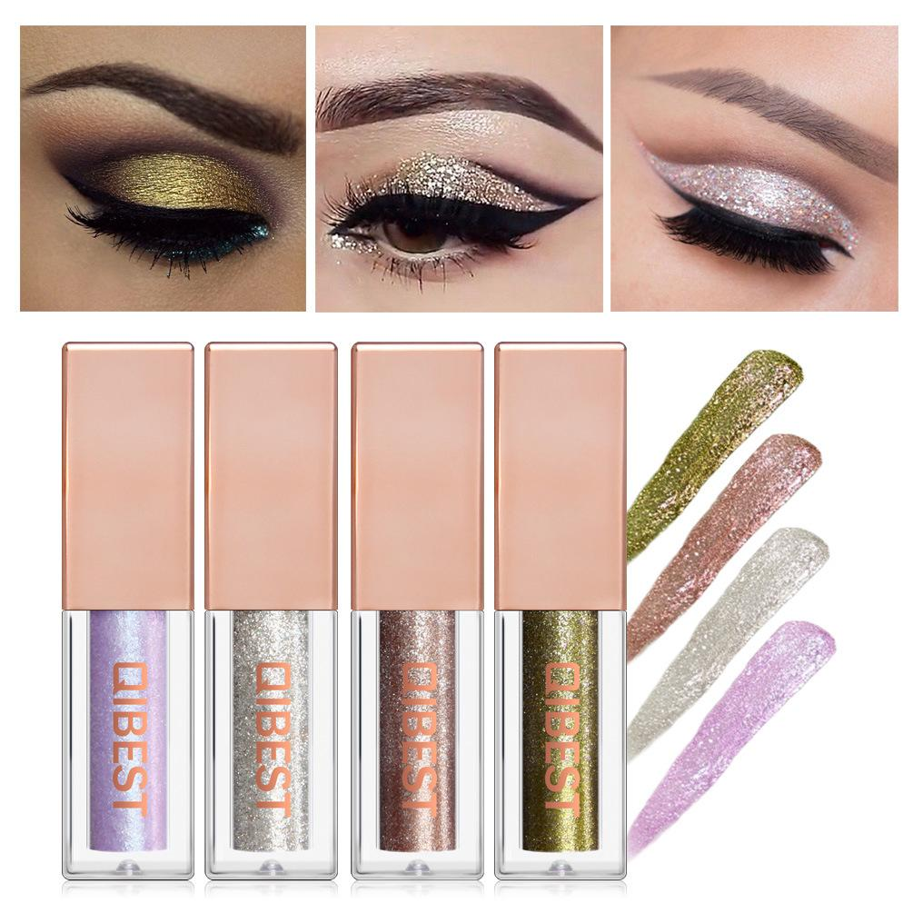 Diamond Pearl Liquid Eyeshadow/15 Colors Eye Shadow Fonsany