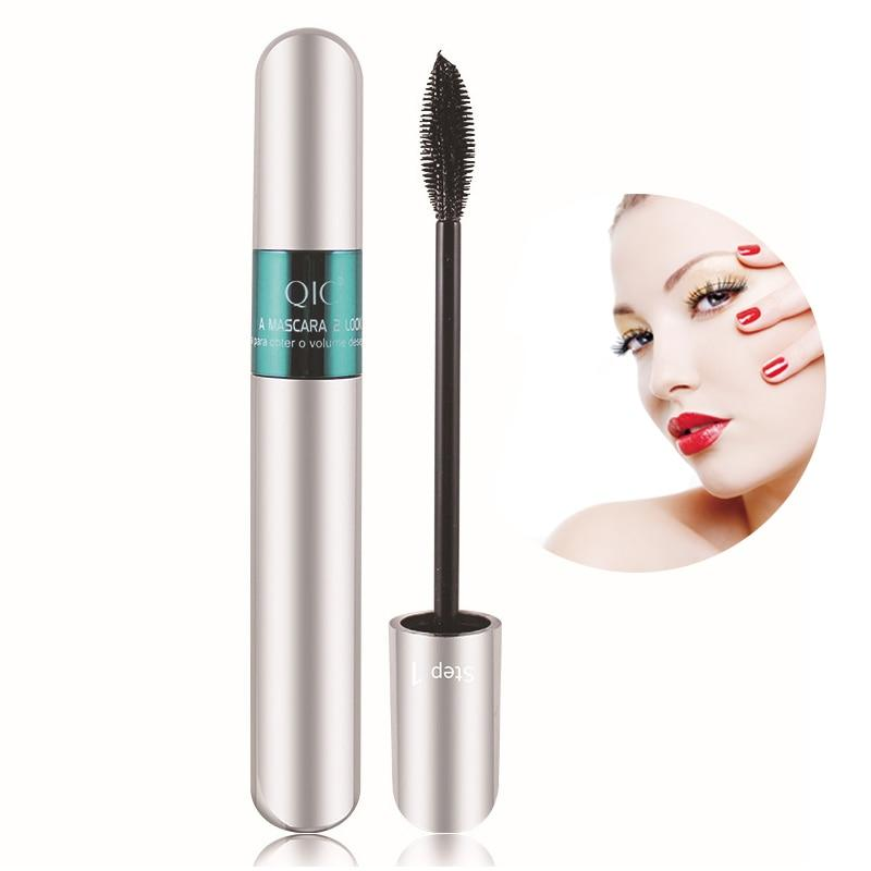 Double Head Curling Long Waterproof 4D Mascara Mascara Fonsany