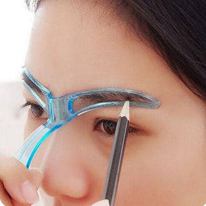 Easy Eyebrow Shaping Stencil Fonsany
