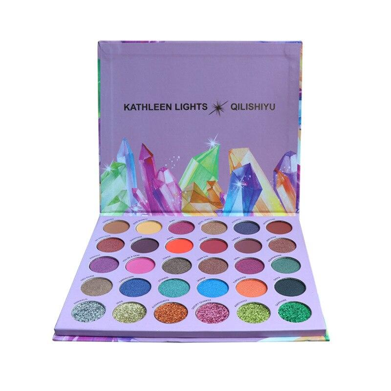 Glazed Bright Diamond 30 Color Eyeshadow Fonsany Colour 1