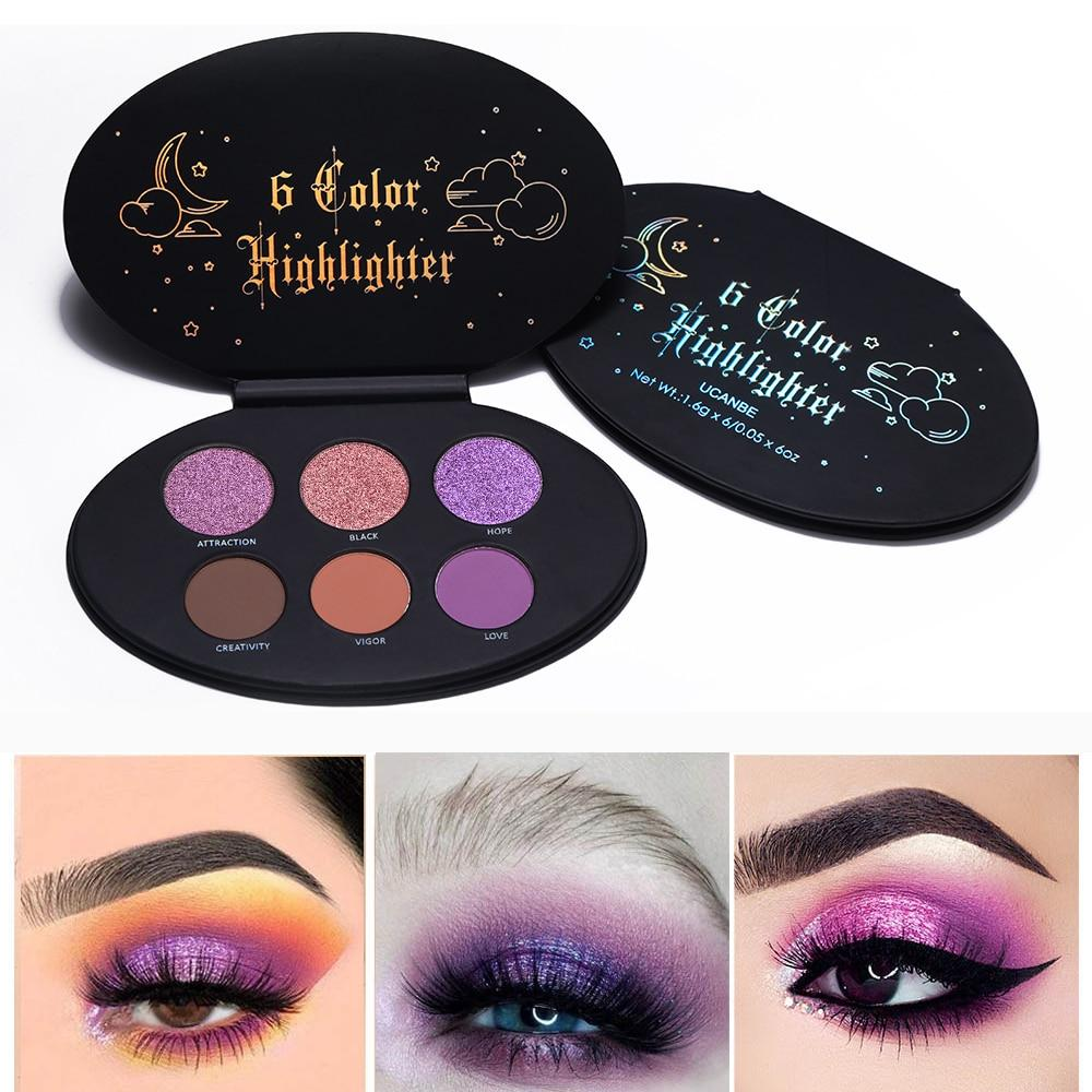 Glitter Eyeshadow Palette Multipurpose Kit Highalighter+Blusher Bronzer Contour Kit Eye Shadow Fonsany