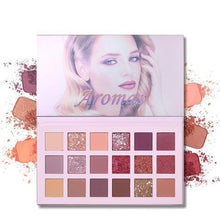 Load image into Gallery viewer, Glitter Matte Nude Eye Shadow 18 Color-Aromas Palette Eye Shadow Fonsany