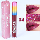 Glitter Waterproof Long Lasting Lip Gloss Lip gloss fonsany 04