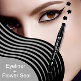 Heart/Star/Moon/Flower Tattoo Stamping Eye Liner Eyeliner Fonsany flower