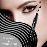 Heart/Star/Moon/Flower Tattoo Stamping Eye Liner Eyeliner Fonsany moon