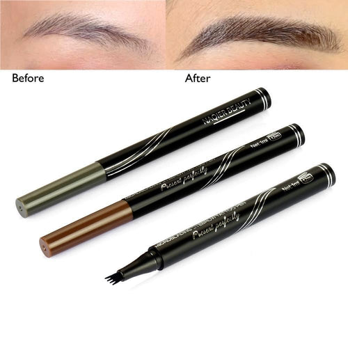 Long Lasting Waterproof Micro-Blading Natural Eyebrow Tattoo Pen (3 Colors Available) makeup Fonsany