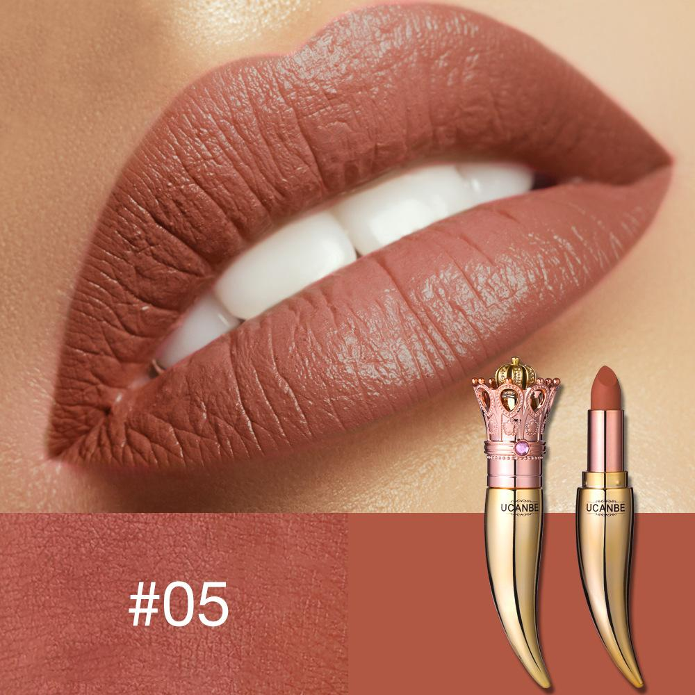 Luxurious Crown Matte Lipstick Fonsany 05#