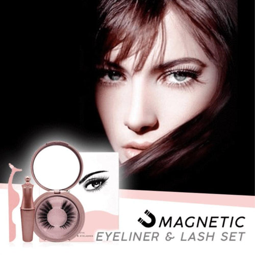 Magnetic Eyeliner & Eyelashes Kit Fonsany