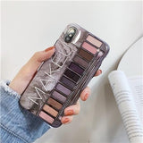 Makeup Eyeshadow Palette Phone Case iphone case Today Special Value For iphone XR Dark Grey