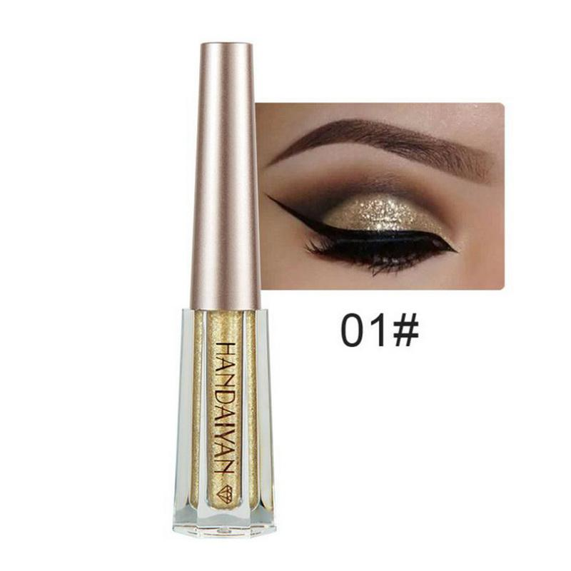 Metallic Diamond Shimmer Liquid Eyeshadow Fonsany 01
