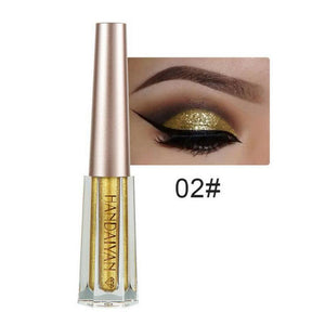Metallic Diamond Shimmer Liquid Eyeshadow Fonsany 02