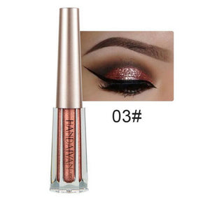 Metallic Diamond Shimmer Liquid Eyeshadow Fonsany 03