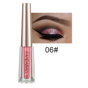 Metallic Diamond Shimmer Liquid Eyeshadow Fonsany 06