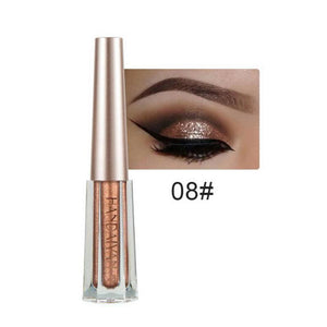 Metallic Diamond Shimmer Liquid Eyeshadow Fonsany 08