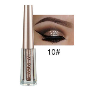 Metallic Diamond Shimmer Liquid Eyeshadow Fonsany 10