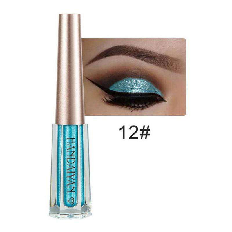 Metallic Diamond Shimmer Liquid Eyeshadow Fonsany 12