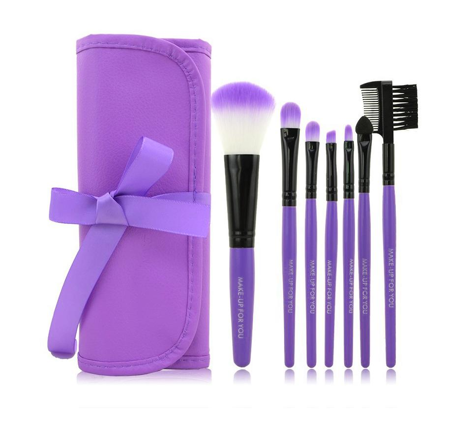 Multi-functional 7 Pieces Makeup Brush Set Makeup Brushes fonsany