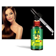 Load image into Gallery viewer, Natural 7Days Hair Regrowth Serum Health & Beauty Fonsany