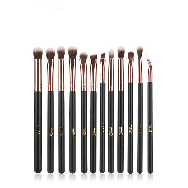 Natural Wood Eye Makeup Brushes Makeup Brush fonsany Only brushes-ST12rg