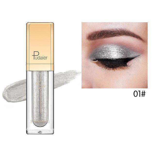 New Waterproof Shiny Liquid Eyeshadow Eye Shadow Fonsany 01