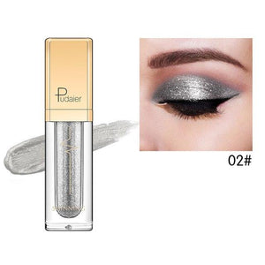 New Waterproof Shiny Liquid Eyeshadow Eye Shadow Fonsany 02