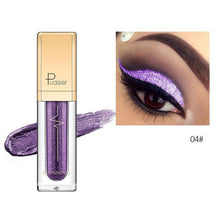Load image into Gallery viewer, New Waterproof Shiny Liquid Eyeshadow Eye Shadow Fonsany 04