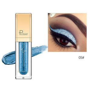 New Waterproof Shiny Liquid Eyeshadow Eye Shadow Fonsany 05