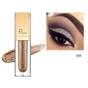 New Waterproof Shiny Liquid Eyeshadow Eye Shadow Fonsany 08