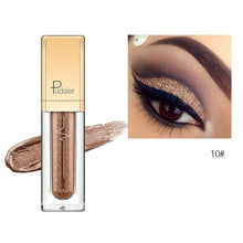 Load image into Gallery viewer, New Waterproof Shiny Liquid Eyeshadow Eye Shadow Fonsany 10