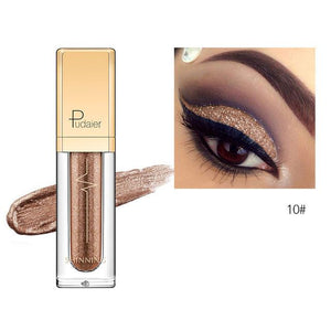 New Waterproof Shiny Liquid Eyeshadow Eye Shadow Fonsany 10