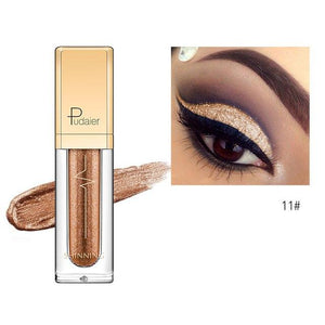 New Waterproof Shiny Liquid Eyeshadow Eye Shadow Fonsany 11