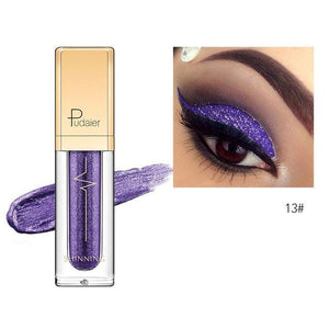 New Waterproof Shiny Liquid Eyeshadow Eye Shadow Fonsany 13