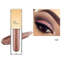 Load image into Gallery viewer, New Waterproof Shiny Liquid Eyeshadow Eye Shadow Fonsany 16