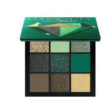Load image into Gallery viewer, Obsessions Eyeshadow Pallete Fonsany EMERALD