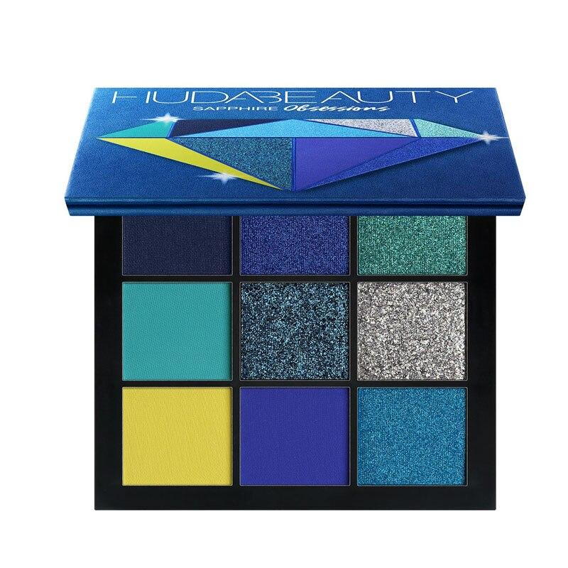 Obsessions Eyeshadow Pallete Fonsany SAPPHIRE