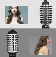 Load image into Gallery viewer, ONE-STEP 2 in 1 Ceramic Rotating Curling Iron Brush makeup wangmeimei