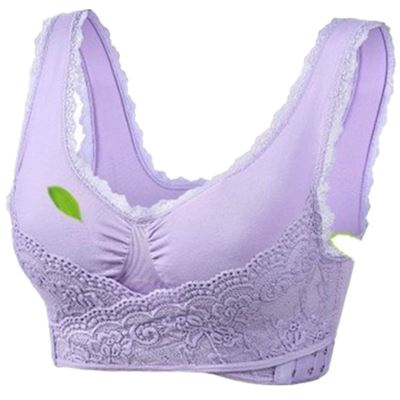 Oversized Cross-Side Bra Fonsany Colour Purple M