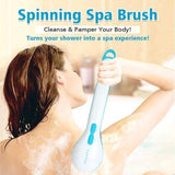 SPIN SPA BODY BRUSH WITH 5 ATTACHMENTS Home & Office fridaytop