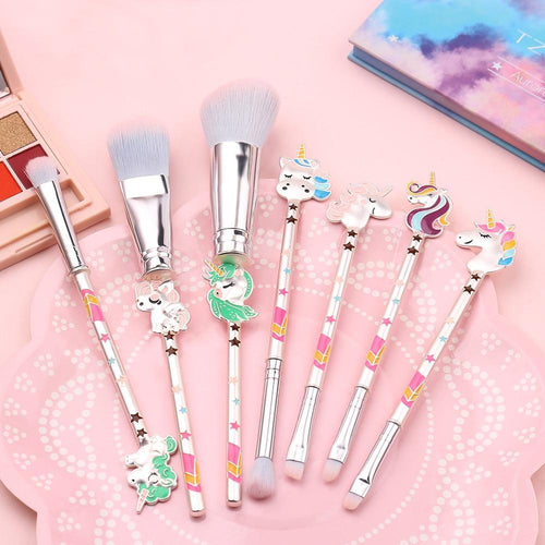 Unicorn Lady™ Makeup Brush Set (7pcs) Eye Shadow Applicator We are best selling