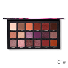Load image into Gallery viewer, Velvet Texture Long-lasting Eyeshadow Palette Fonsany 01#