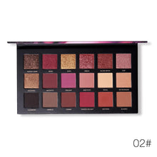 Load image into Gallery viewer, Velvet Texture Long-lasting Eyeshadow Palette Fonsany 02#