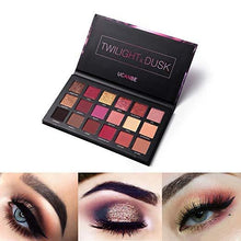 Load image into Gallery viewer, Velvet Texture Long-lasting Eyeshadow Palette Fonsany