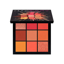 Load image into Gallery viewer, Warm Brown Smokey Mauve 9 Color Eyeshadow Pallete Fonsany HB01-CORAL