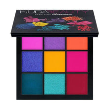 Load image into Gallery viewer, Warm Brown Smokey Mauve 9 Color Eyeshadow Pallete Fonsany HB01-ELECTRIC