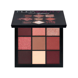 Warm Brown Smokey Mauve 9 Color Eyeshadow Pallete Fonsany HB01-MAUVE