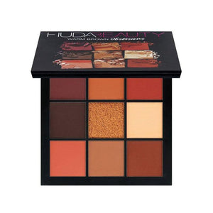 Warm Brown Smokey Mauve 9 Color Eyeshadow Pallete Fonsany HB01-WARM BROWN
