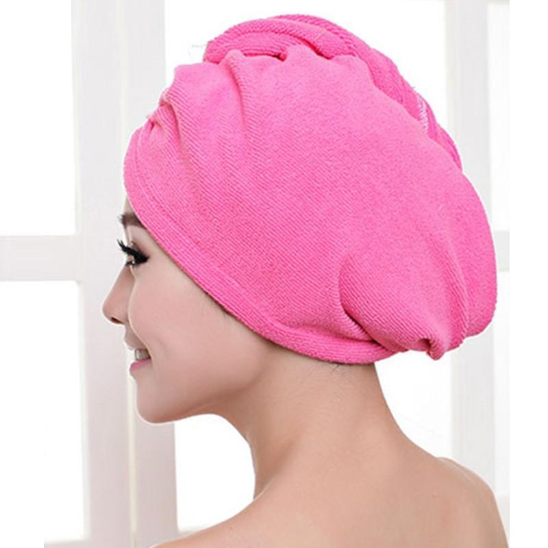 Water Absorption Shower Cap 403 Selected-beauty-de Rosa