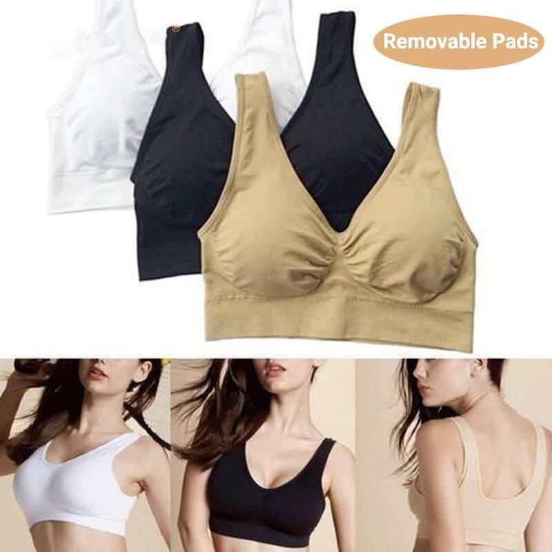 Wirefree Sports Bra (Set of 3) Bra Dream Fiona
