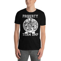 Team DMP Short-Sleeve Unisex T-Shirt - White Print